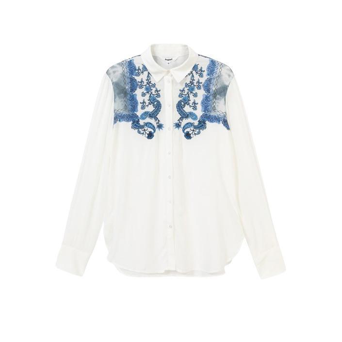 Desigual Women's Shirt White 189512 - white XS