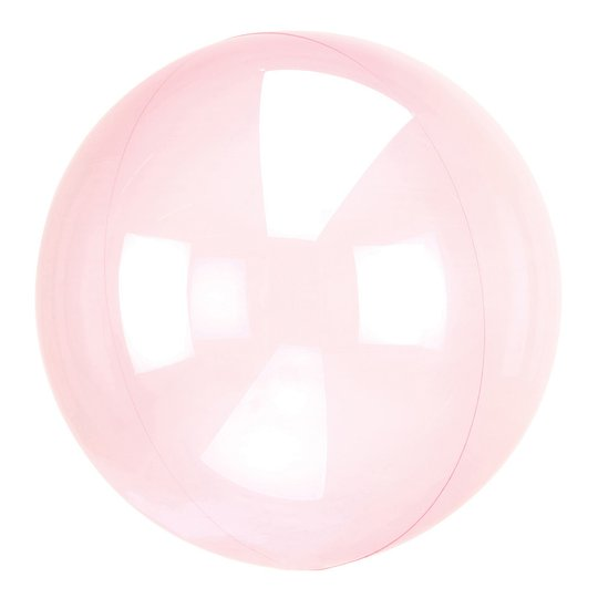 Ballong Clearz Crystal Rosa