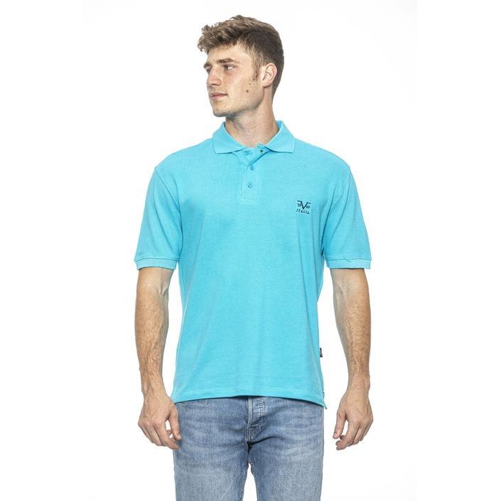 19v69 Italia Men's Polo Shirt Blue 185472 - blue M