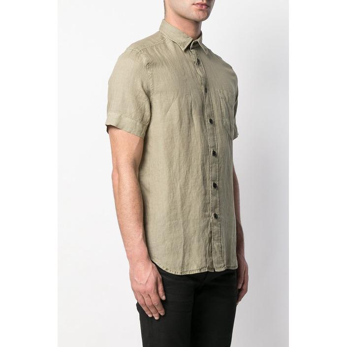 Diesel Men's Shirt Green 287508 - green 2XL
