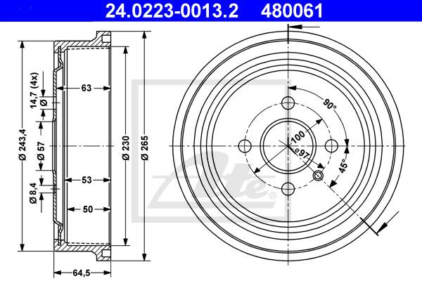 Jarrurumpu ATE 24.0223-0013.2