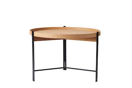 Compose Soffbord Ek Svart Ø70 cm