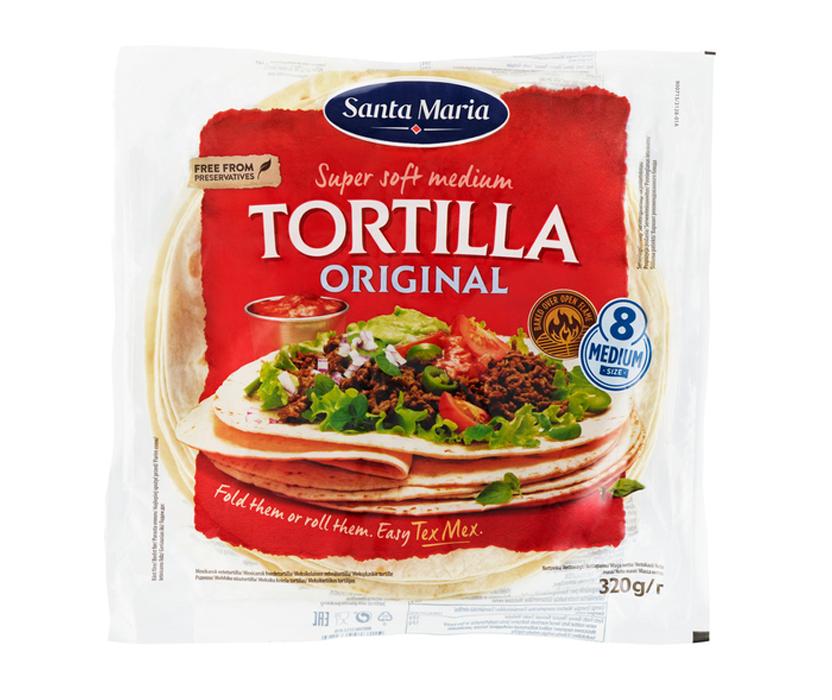 Tortillabröd Medium 8-pack - 47% rabatt