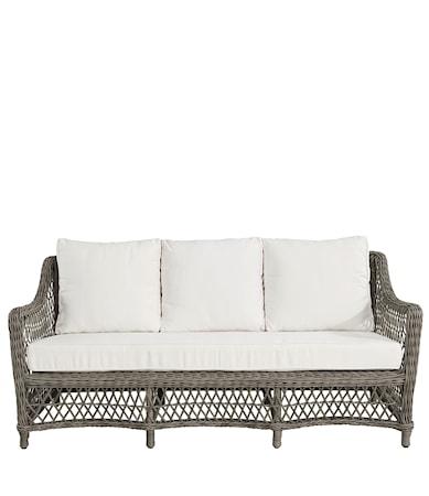 Marbella 3-sits soffa inklusive Dynor Vintage
