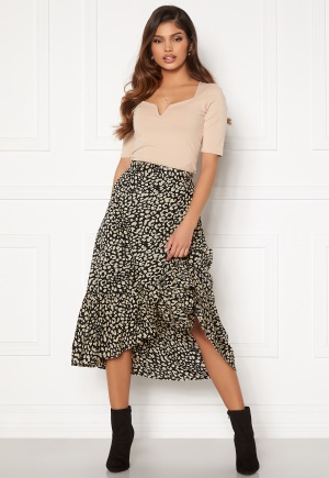 Happy Holly Michelle skirt Black / Beige 44/46
