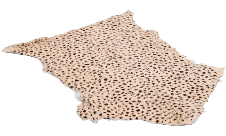 Goaty rug leopard print - geiteskinn