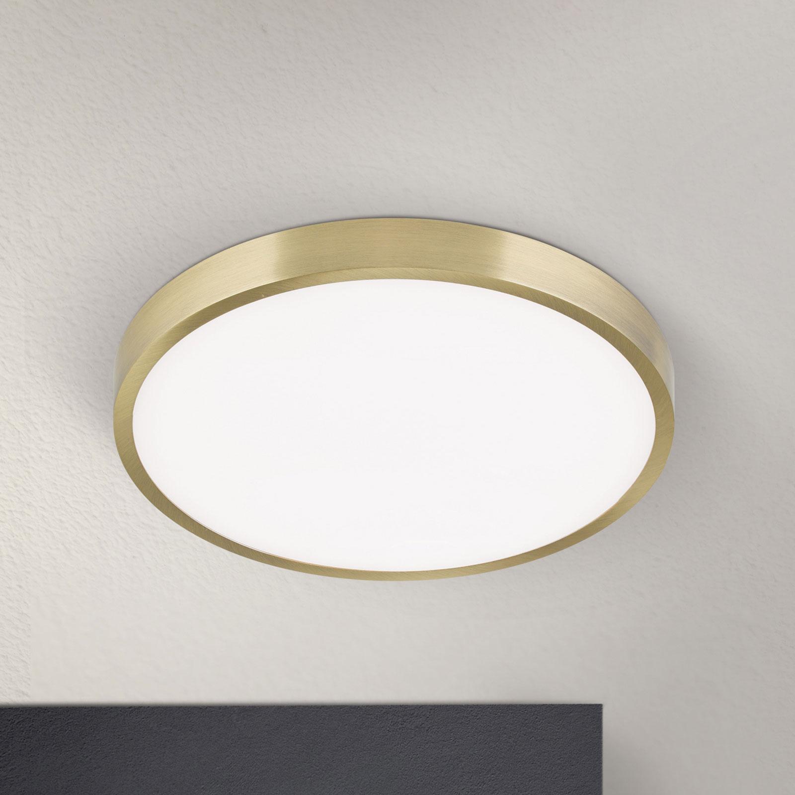 LED-kattovalaisin Bully, patinoitu, 24 cm