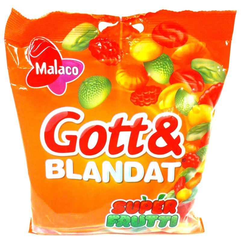 Gott och blandat Super Frutti - 29% rabatt
