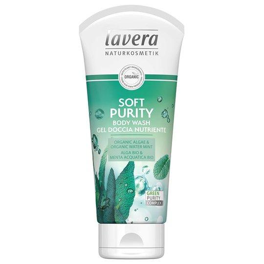 Lavera Soft Purity Body Wash, 200 ml