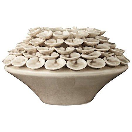 Vase Stina 12cm Beige