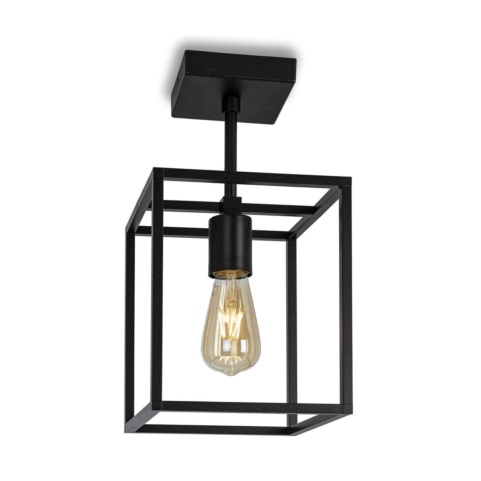 Cubic³ 3394 taklampe, svart