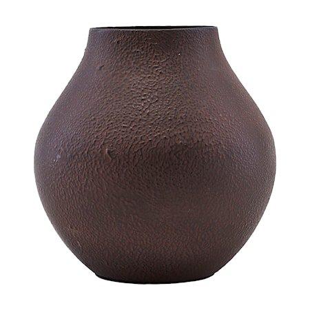 Vase Kojo - Burgundy/brun