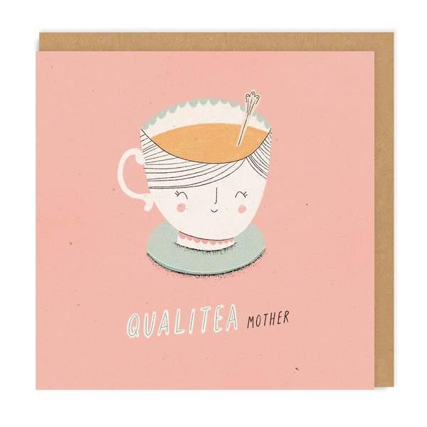 Quali-tea Mother Square Greeting Card