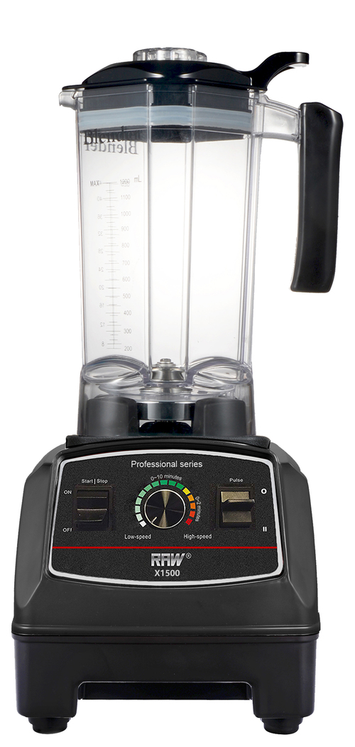 Raw X1500.b Blender 1,2 L Black 1500 Watt - Svart
