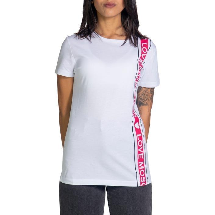 Love Moschino Women's T-Shirt White 221927 - white 38