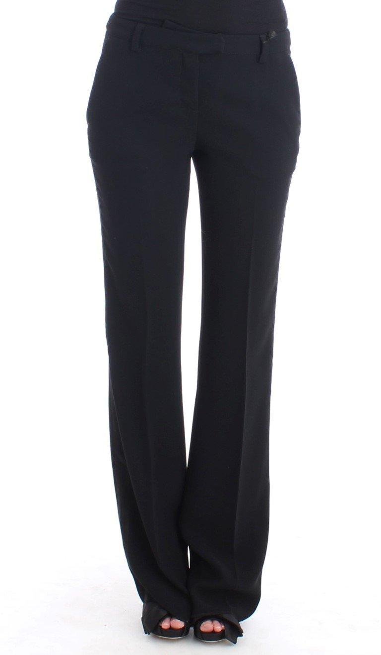 Cavalli Women's Dress Trousers Black SIG11638 - IT40|S