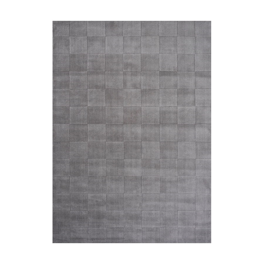 Ullmatta LUZERN 140 x 200 cm ljusgrå, Linie Design