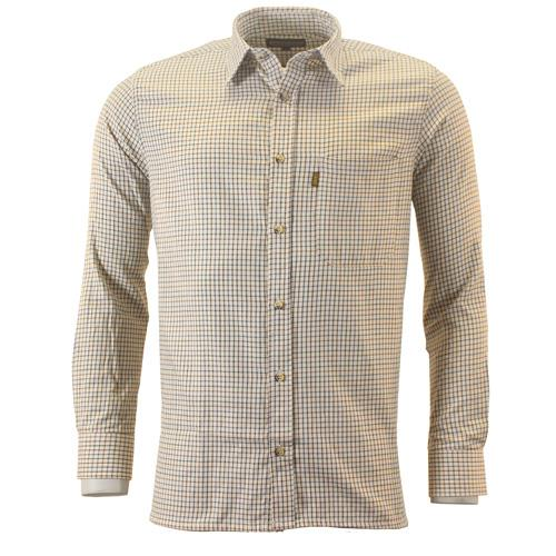 Game Technical Apparel Men's Shirt Various Colours Shirt T01 - Brown/Green S