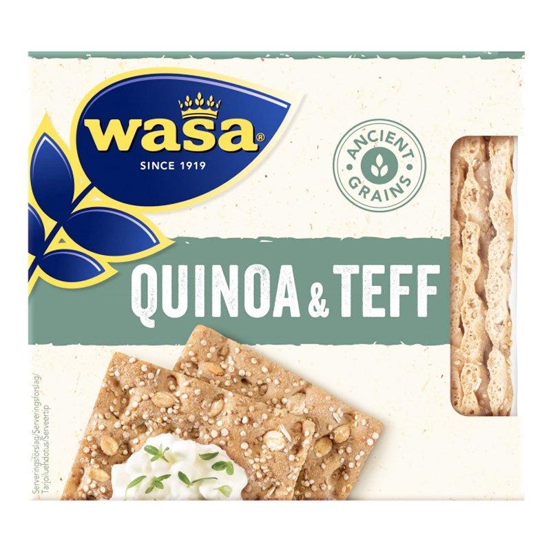 """Näkkileipä """"Quinoa & Teff"""" 245g - 55% alennus"""