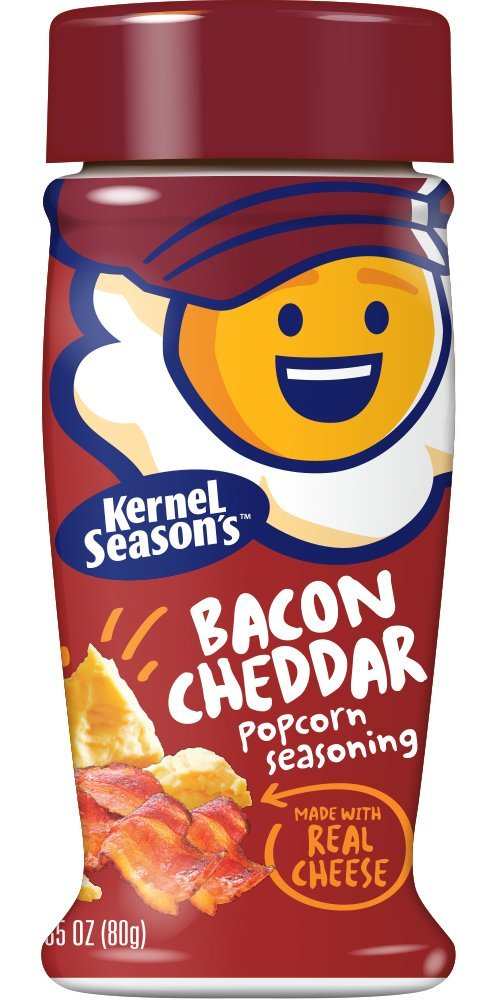 Kernel Popcornkrydda Bacon Cheddar 80g
