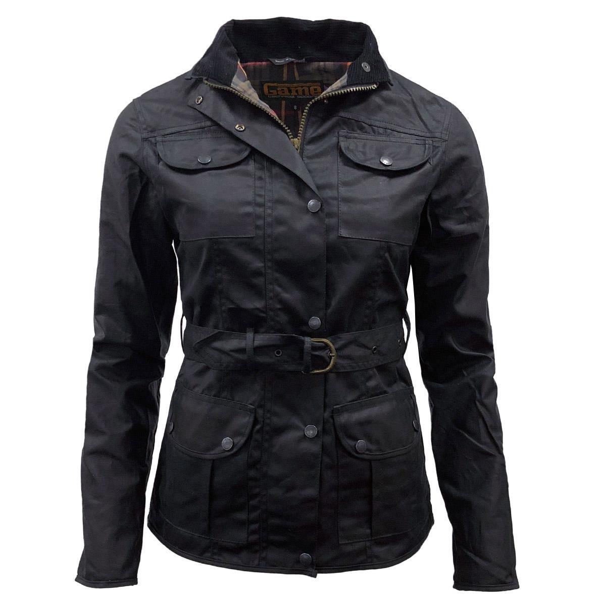 Game Technical Apparel Women's Jacket Morgan Wax - Black 8