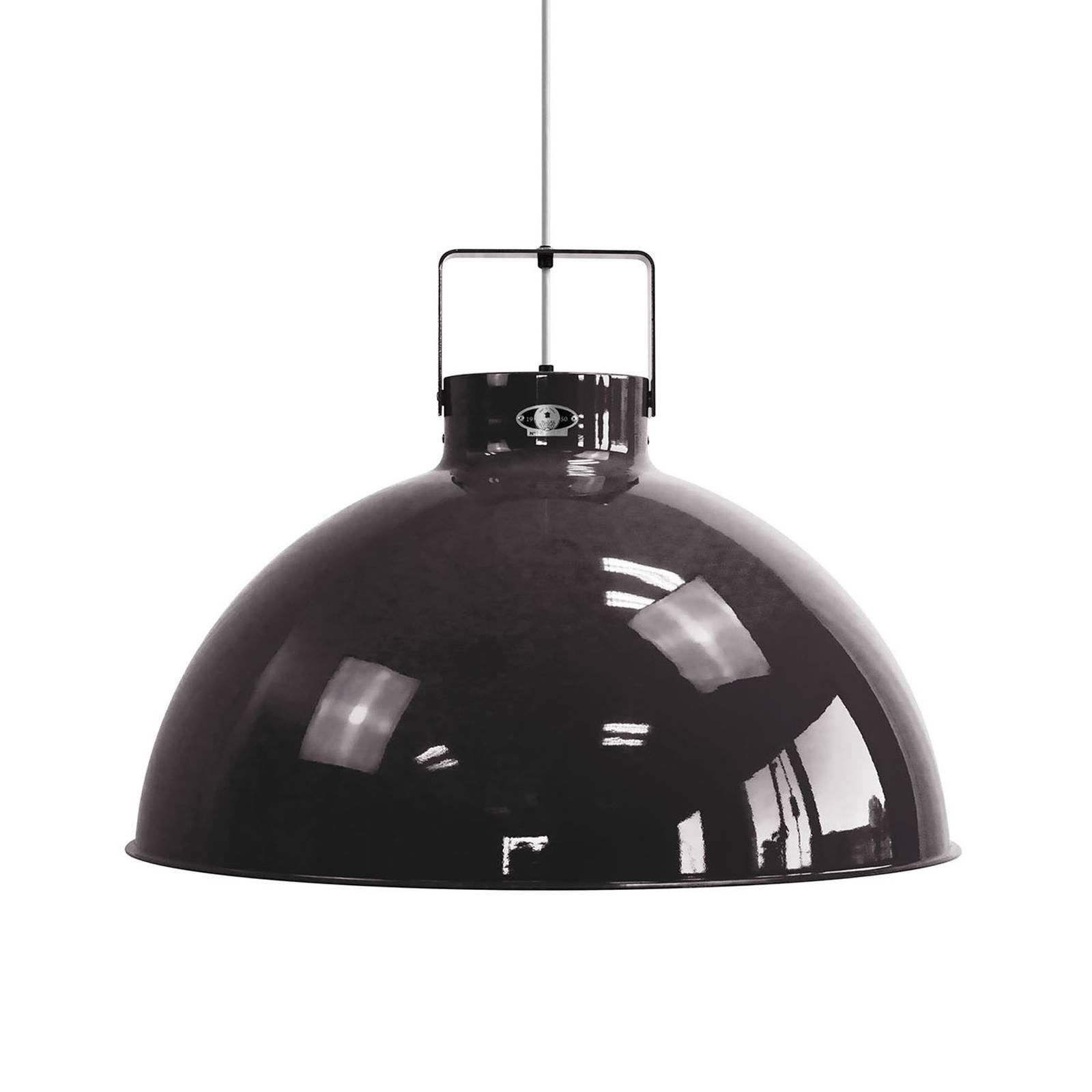 Jieldé Dante D675 hengelampe, svart, Ø 67,5 cm