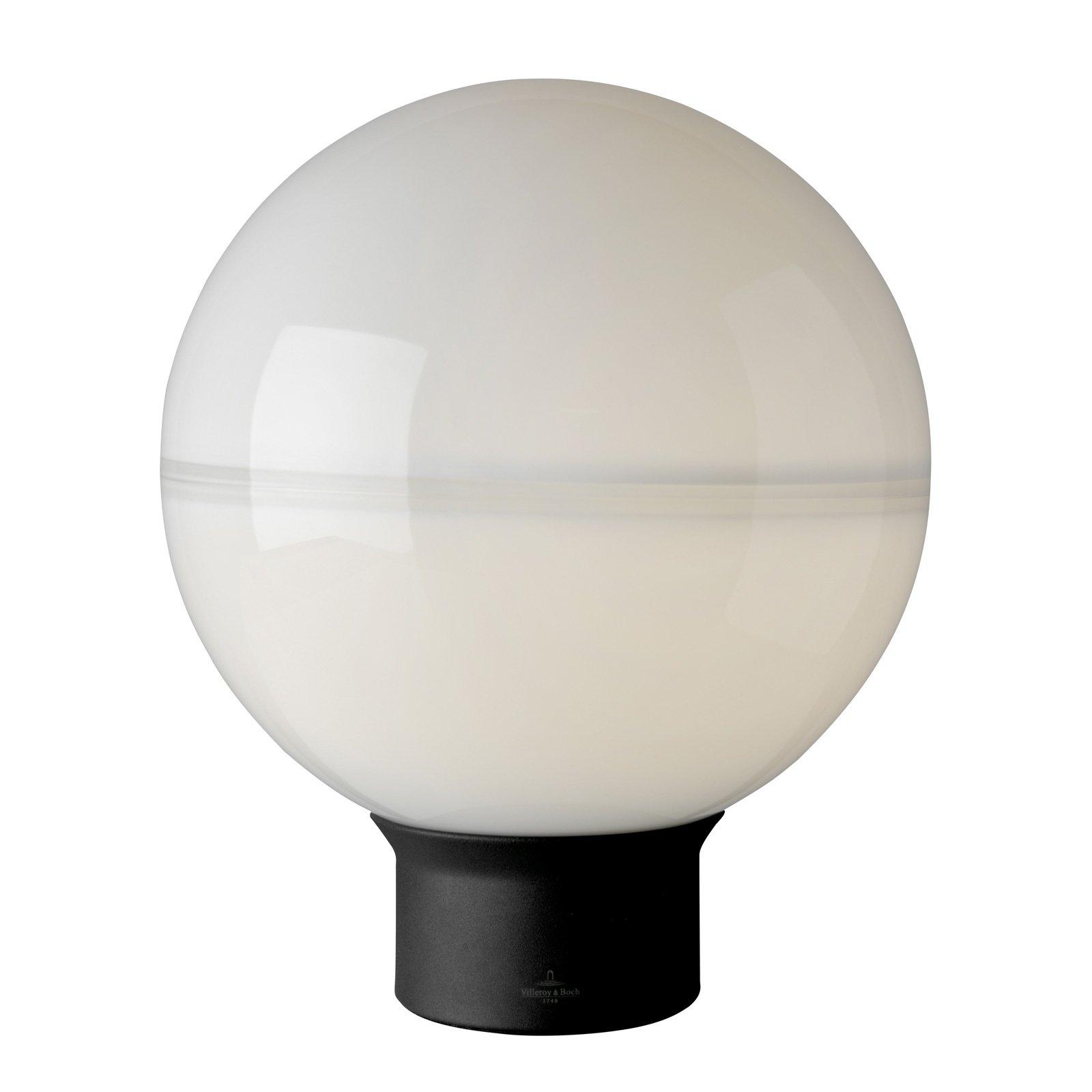 Villeroy & Boch Tokio bordlampe svart-hvit 30 cm