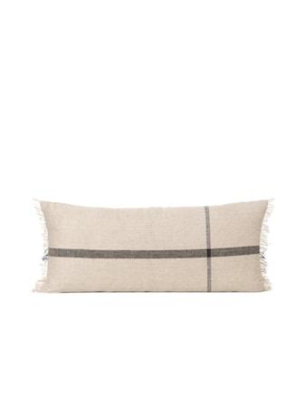 Calm Cushion 38x88 - Camel / Black