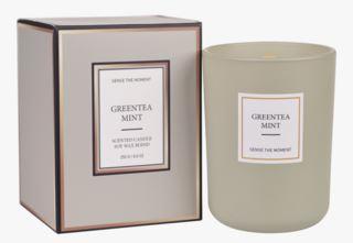 Greentea Mint matt tuoksukynttilä vihreä