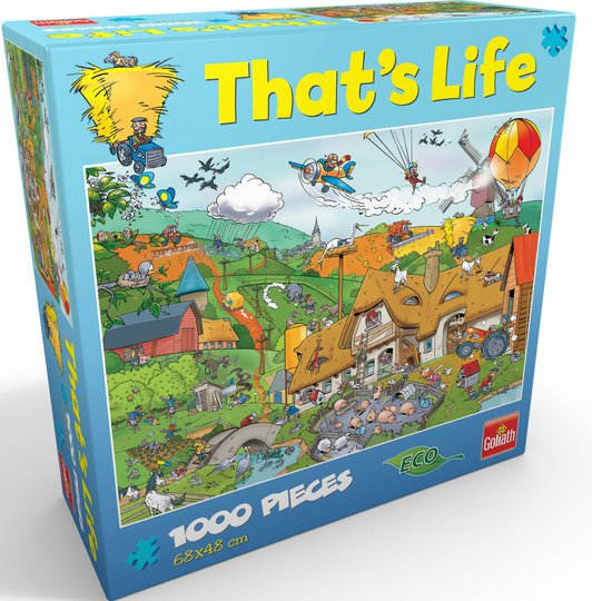 Goliath Games Puslespill That's Life - Farm 1000 Brikker