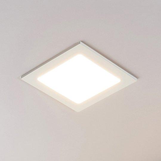 LED-kohdevalo Joki valkoinen 3000K kulmikas 17cm