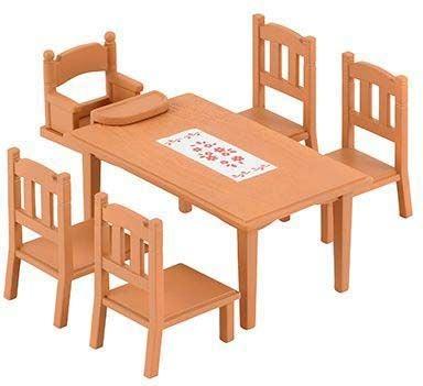 Sylvanian Families Nukkekodin Kalusteet 4506 Family Table & Chairs