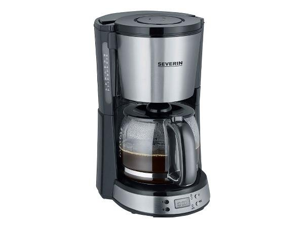 Serverin - Coffee Machine With Timer KA 4192 1000 watt - Black (494007)