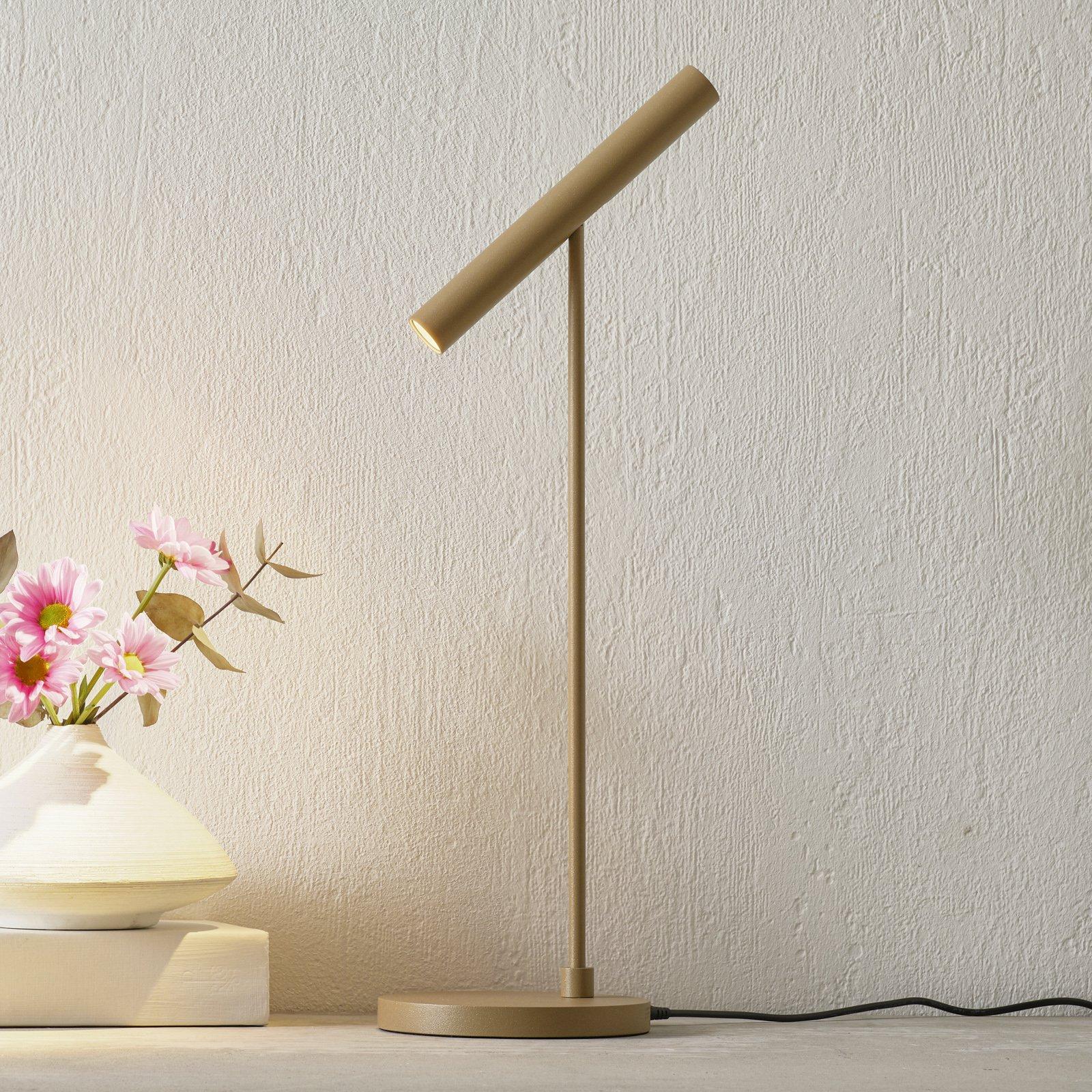 LOUM Meyjo LED-bordlampe sensor-dim terra