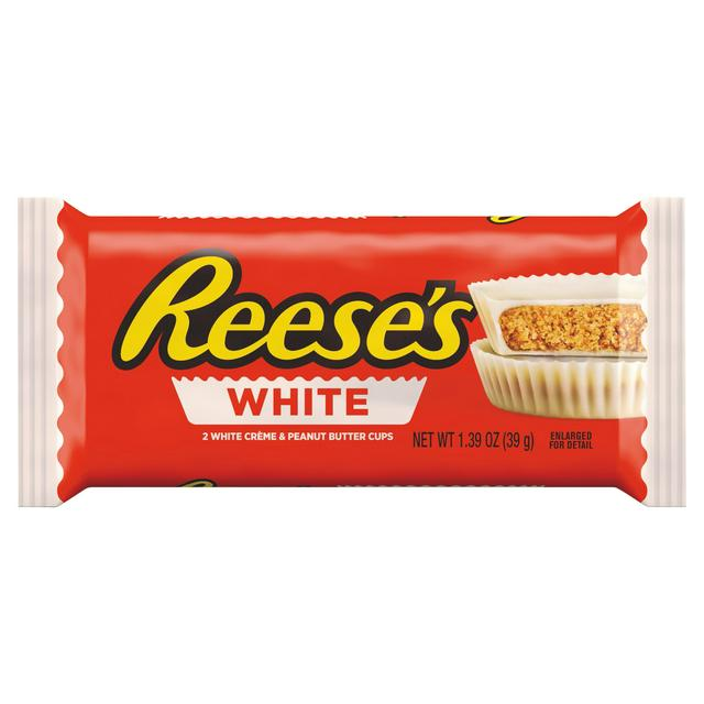 Reeses White Chocolate Peanut Butter Cups 39gram