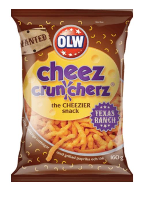 OLW Cheez Cruncherz Texas Ranch 160g