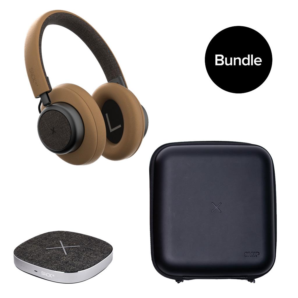 SACKit - TOUCHit Headphone + CARRYit Case + CHARGEit Dock - Bundles