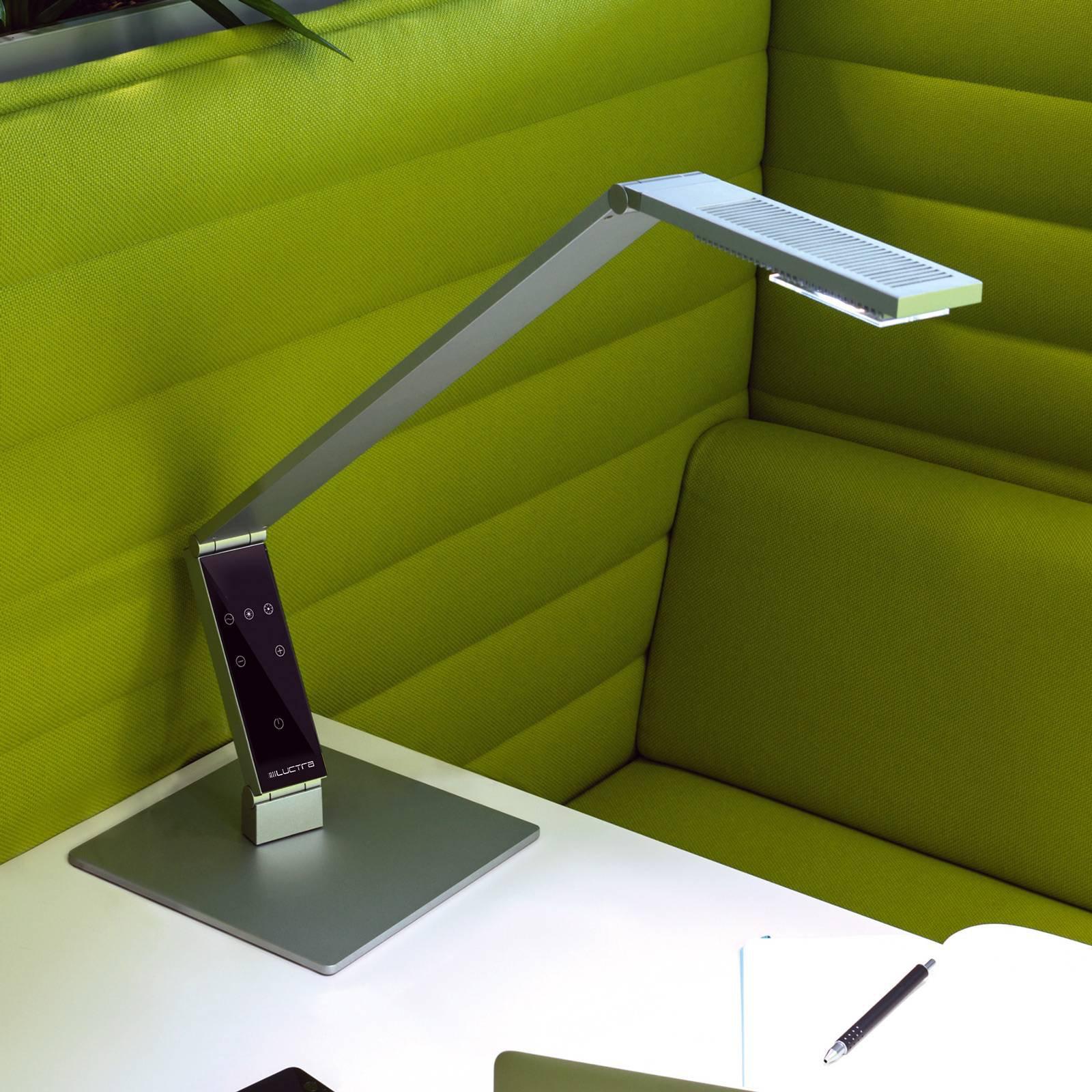 Luctra Tabel Linear LED-bordlampe fot, alu