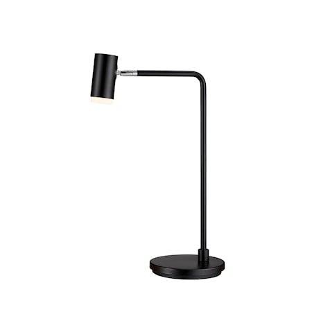 Cato Q Bordlampe Mattsvart LED 56 cm