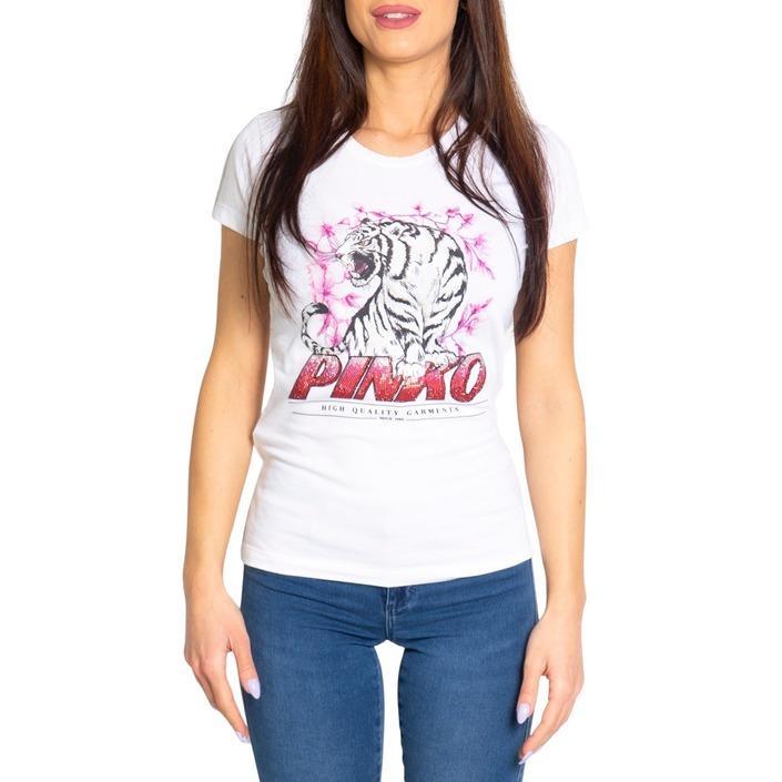 Pinko Women's T-Shirt White 205024 - white XS
