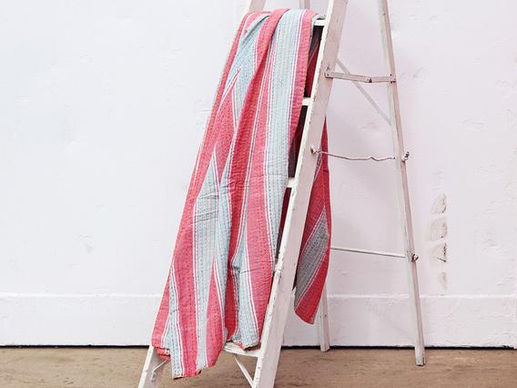 Stripe Bed Cover - Single