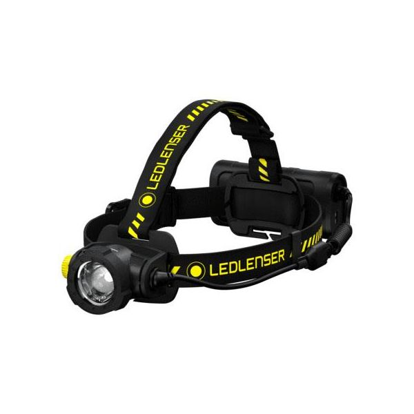 Led Lenser H15R Work Otsalamppu 3 valotoimintoa, 2500 lm