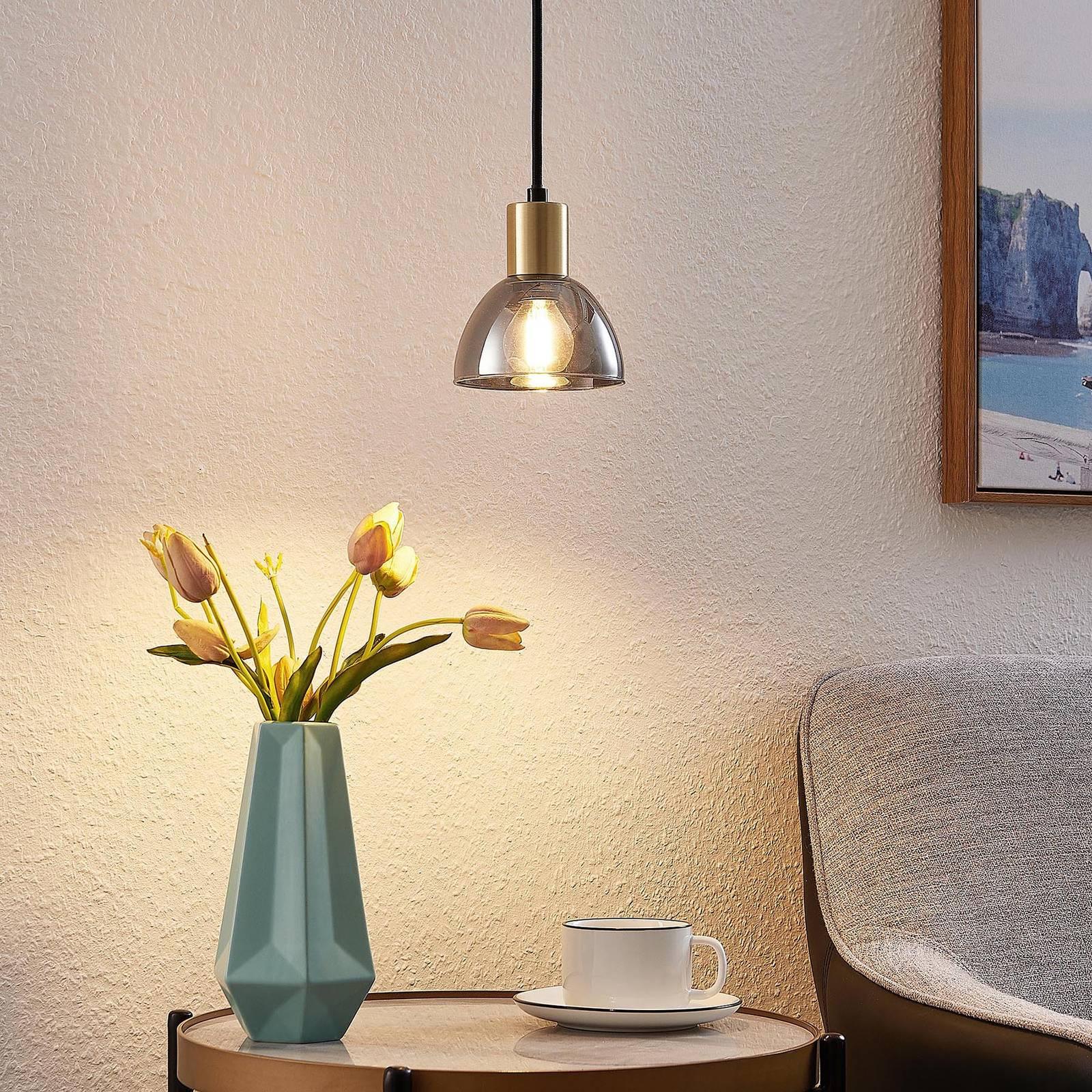Lindby Aniol -riippuvalo, 1-lamppuinen
