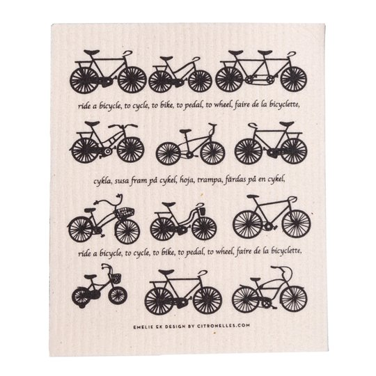 Citronelles - Bicycle Disktrasa 18x20 cm