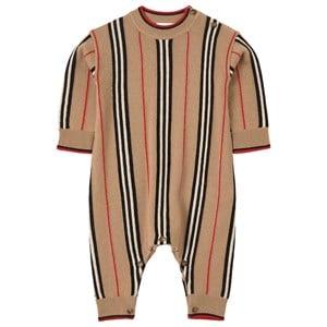 Burberry Icon Stripe Jumpsuit Beige 9 mån