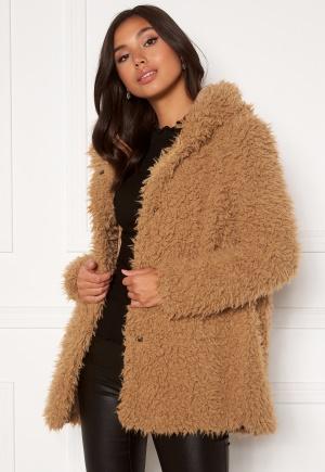 Happy Holly Jenny fur coat Camel 40/42