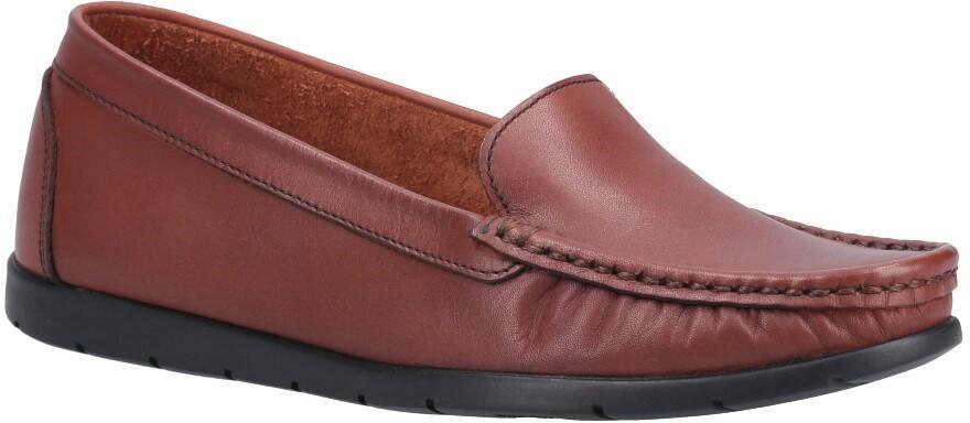Fleet & Foster Women's Tiggy Slip On Loafer Various Colours 31018-52941 - Tan 3