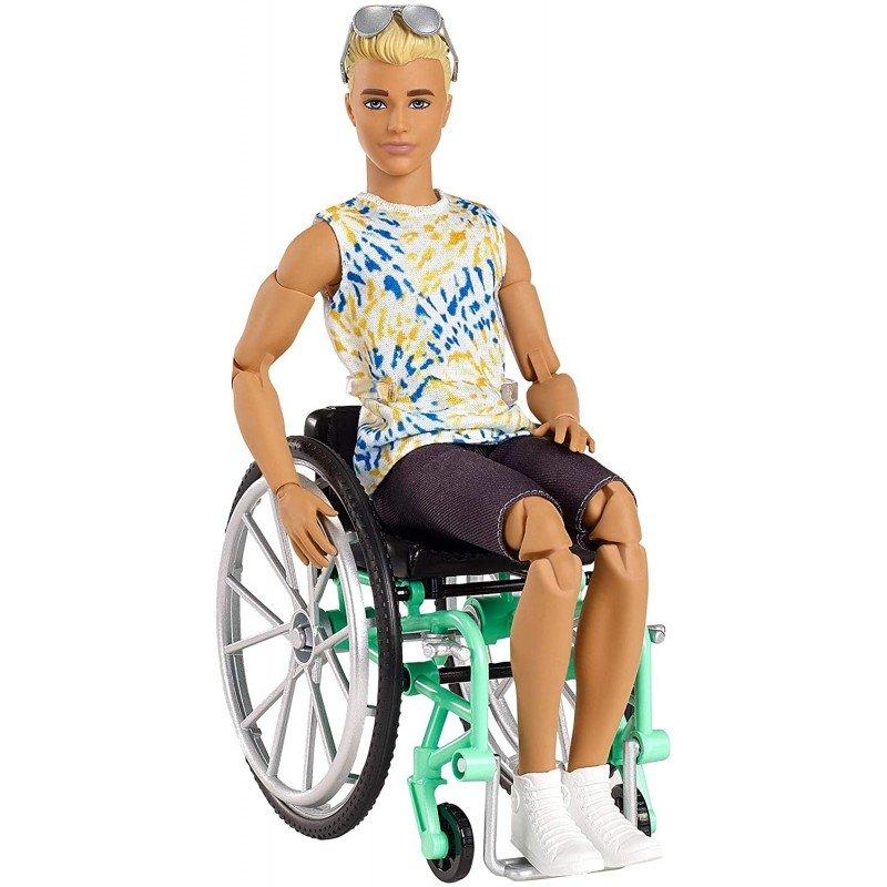 Barbie - Ken Wheelchair with accessory (GWX93)