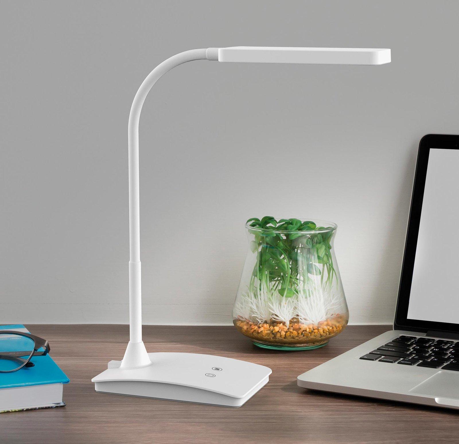 MAULpearly colour vario LED-skrivebordslampe