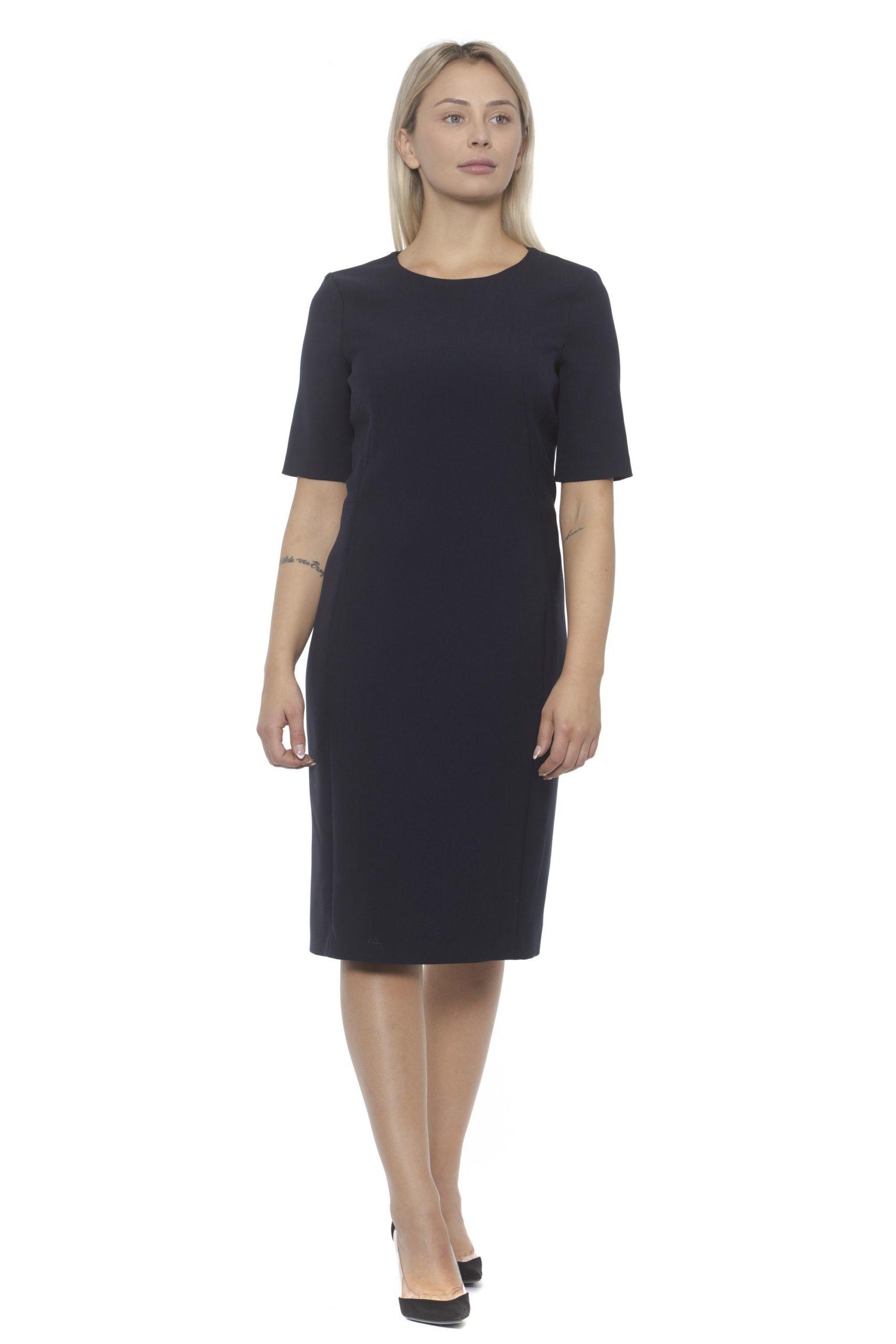 Peserico Women's Dress Blue PE1383190 - IT42 | S
